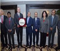 صور| احتفالية كبرى في الهند على شرف السفير المصري حاتم تاج الدين