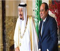 «السيسي» يبحث مع العاهل السعودي سبل تعزيز التعاون الثنائي