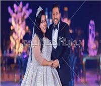 صور  نجوم الفن يحتفلون بزفاف شيماء سيف