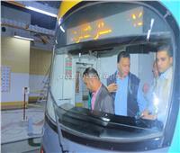 أول صور لـ «مترو مصر الجديدة» بعد تشغيله تجريبيا بحضور وزير النقل