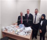 ضبط 65 جهازا طبيا مع برازيلية في مطار القاهرة
