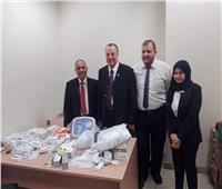 إحباط محاولة تهريب كمية من الأدوية البشرية والأجهزة الطبية بمطار القاهرة
