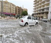 فيديو| السيول تغرق الدوحة