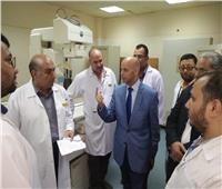 وكيل «صحة الشرقية» يتفقد عددا من المستشفيات العامة بالمحافظة