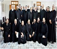 كهنة الأقباط الكاثوليك بالمنيا يقيمون رياضتهم الشهرية