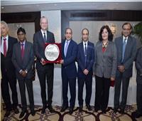 لفيف من السفراء العرب في حفل وداع سفير مصر بالهند