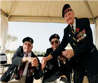 فيديو وصور| محاربون بريطانيون يستعيدون ذكريات معركة العلمين في مصر