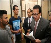 وزير التعليم العالي يؤكد على ميكنة العمل بالإدارات