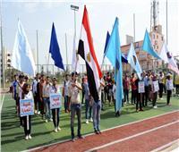 ١٥٠٠طالب في سباق ماراثون جامعة طنطا