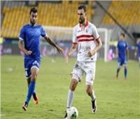 حمدي النقاز ينتظم في تدريبات الزمالك بعد عودته من تونس