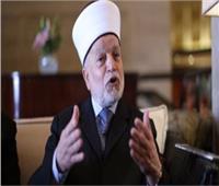مفتى القدس يشكر مصر على دعمها للقضية الفلسطينية