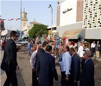 صور| عرفات يتأكد بنفسه من تنفيذ مبادرة تجميل محطات القطارات في بنها
