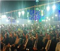 صور| محافظ أسوان و 4 وزراء يشهدون فعاليات تعامد الشمس بـ«أبو سمبل»