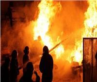 إصابة 14 شخص في انفجار أنبوبة بوتجاز بالحوامدية