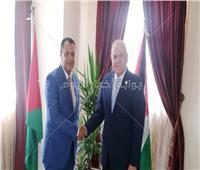 أمين عام اتحاد الجامعات العربيةيستقبل نائب رئيس جامعة أسيوط في عمان