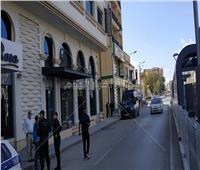 صورة| الأهلي في حراسة مشددة بالجزائر
