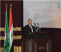 صور: جامعة القاهرة تحتفل بمرور 45 عامًا علي انتصارات أكتوبر
