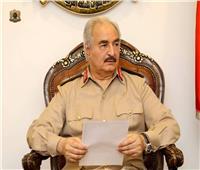 الصور..«حفتر» يلتقي بقادة المناطق العسكرية بليبيا
