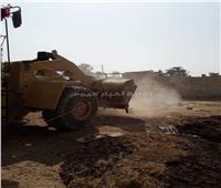 إزالة تعديات على 5 أفدنة من الأراضي الزراعية بالإسكندرية