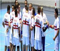 الزمالك يهزم المجمع البترولي الجزائري في بطولة إفريقيا لليد