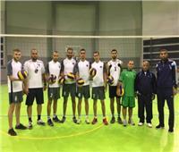 وصول منتخب فلسطين للكرة الطائرة للمشاركة فى البطولة العربية بالقاهرة