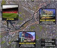 مانشستر يونايتد يغير فندق إقامة لاعبيه قبل مواجهة يوفنتوس لهذا السبب