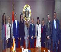 «نصار» يبحث مع ممثلي «التجارة الأمريكية» تعزيز التعاون التجاري