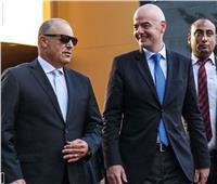 رئيس «فيفا» يهنئ أبو ريدة ببرونزية أولمبياد الشباب