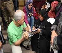 محافظ المنوفية يستمع لشكاوى الأهالي أمام مقر «إدارة خدمة المواطنين»