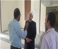 صور| «عفيفي» يتابع أعمال تطوير مبنى المجمع بمدينة نصر