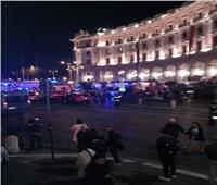 إصابة 15 من مشجعي «سيسكا موسكو» بروما