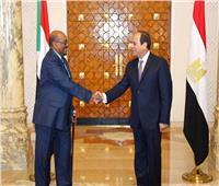 وصول الوفد المصري المشارك في اجتماعات اللجنة الوزارية المشتركة مع السودان الخرطوم