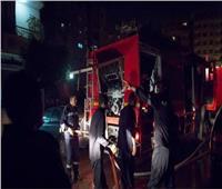 ماس كهربائي وراء حريق محل بالجمالية