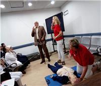 فريق طبي هولندي يدرب 30 ممرضة بالأقصر على طب الطوارئ