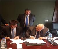 صور  وزير قطاع الأعمال يشهد توقيع مذكرة لإنشاء مصنع للغزل والنسيج بكفر الشيخ