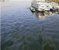 السيطرة على بقعة سولار في نيل أسوان وإعادة تشغيل محطات مياه الشرب