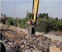 بدء أعمال ترميم طريق الإسماعيلية- السويس الصحراوي