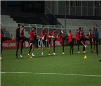 تدريبات استشفائية للاعبي الأهلي استعدادا للوصل