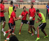 «تقسيمة باليد» في مران الأهلي استعدادًا لمواجهة الوصل الإماراتي