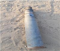صور| العثور على «دانة مدفع» من مخلفات الحروب بالإسماعيلية