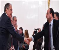 لافروف يلتقى مع كبير مفاوضي المعارضة السورية في موسكو