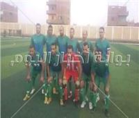 فوز فريق منيا القمح بـ 6 أهداف مقابل هدف لفريق الحسينية
