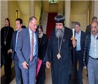 القنصل المصري الجديد يزور إيبارشية شمال فرنسا