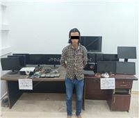 القبض على المتهم بسرقة محتويات مدرسة «بدر»