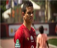 سعد سمير ينتظم في مران الأهلي الجماعي