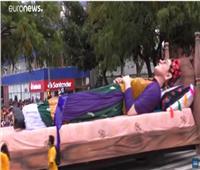 فيديو| المكسيك تكرم المهاجرين في «يوم الموتى»
