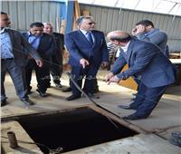 صور| وزير النقل يفاجىء ورش إصلاح القطارات ووحدات النظافة