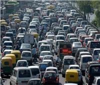 بالفيديو| المرور: كثافات مرورية عالية على كافة الطرق والمحاور الرئيسية بالقاهرة