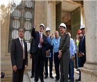 محافظ القليوبية يتفقد أعمال الترميم بقصر«محمد علي» بشبرا الخيمة