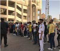 صور: توافد الجماهير علي ستاد الإسماعيلية لحضور مباراة الرجاء المغربي